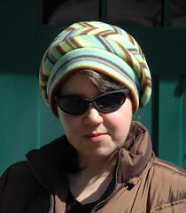 Simplicity 2494, View F (kizilod2) Tags: hat pattern sewing stripes stripe fleece striped simplicity2494
