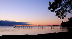 w a i t i n g . . . (anniedaisybaby) Tags: birthday morning lake nature sunrise pier day manitoba clear serenity handheld interlake lakewinnipeg nikond300 poplarpier villageofdunnottar nearponemahandmatlock
