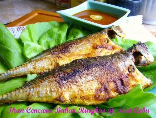 Ikan Cencaru Bakar Ringkas