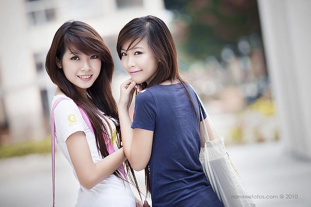 Hình chân dung ngoài trời model Jojo Nguyen - Quỳnh Thơ
