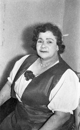 Margaret Tucker in a vest