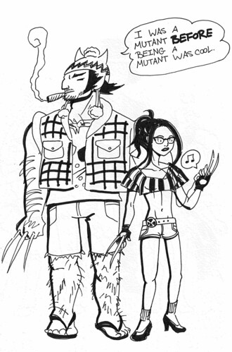 Wolverine & X-23