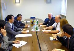 イスラエル国家安全保障委員会ウジ・アラッド議長との会談