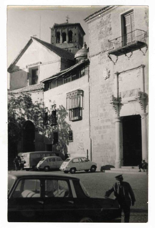 Palacio de Fuensalida hacia 1970. Colección Luis Alba. Ayuntamiento de Toledo