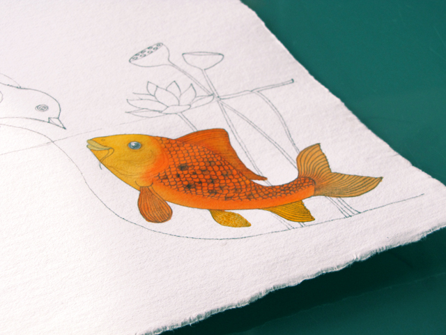 Koi in color