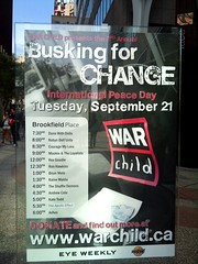 Busking for CHANGE