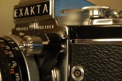 Exakta Varex IIa - release shutter unlocked