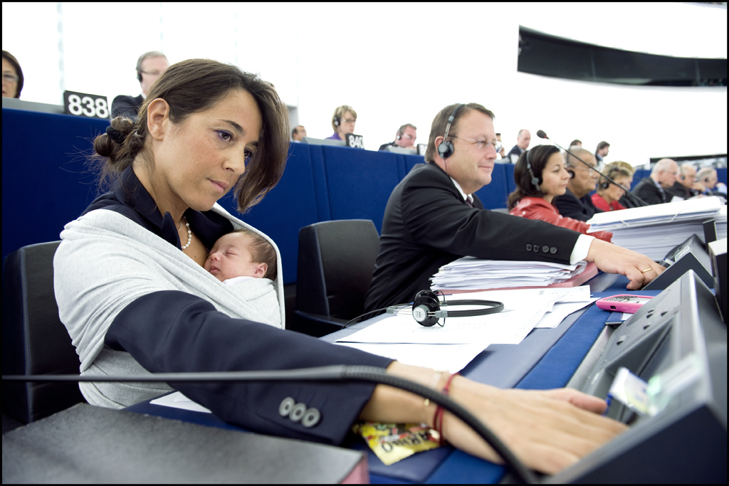 The younghest MEP ever! by European Parliament, on Flickr