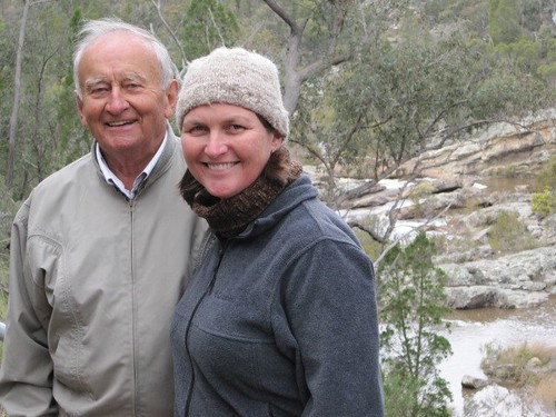 Dad and me, Molonglo Gorge