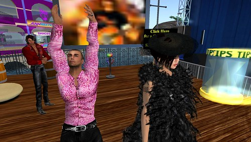 xavier and raftwet at sherie's gaslight