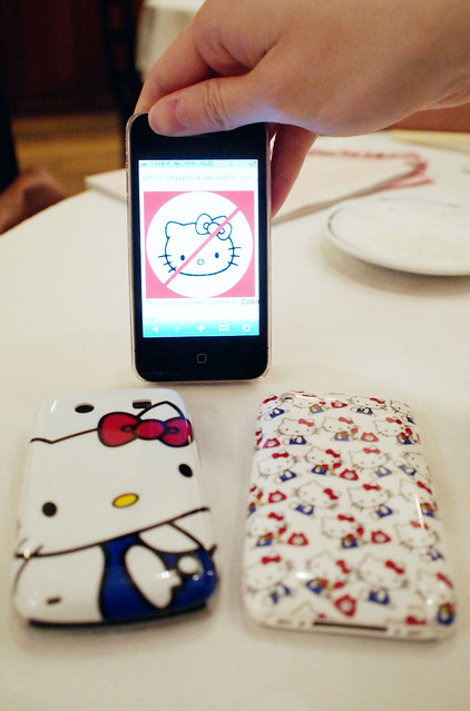 Hello Kitty iPhone & Blackberry Case