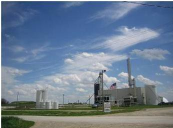 An ethanol plant in Bairstown, Iowa, may soon begin producing fuel from waste materials.