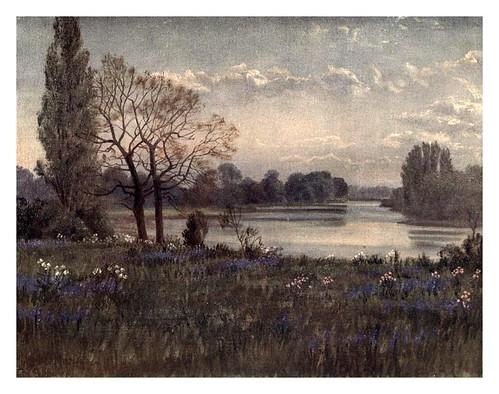 013-El Tamesis desde los jardines-Kew gardens 1908- Martin T. Mower