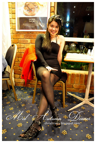 Mid Autumn Dinner at Blue Mountain Hotel: Myself 6