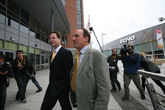 Nick Clegg and Simon Hughes have criticised David Cameron over his proposals to deal with convicted rioters