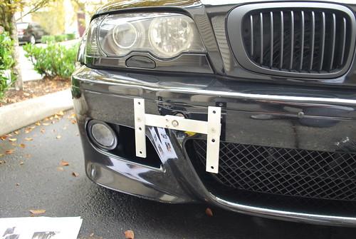 Mfest Front Plate Holder Pics Inside  BMW M3 Forumcom E30 M3