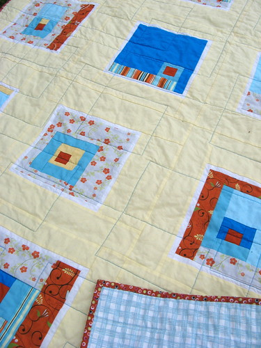 Squared Straight - quilting detail