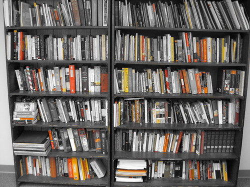 Image of a book case