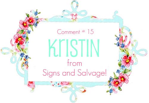 winner Kristin
