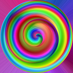 Candy spiral (Marco Braun) Tags: color art spiral rainbow colourful coloured farbig bunt regenbogen mucho spirale spirali multichrome couleures