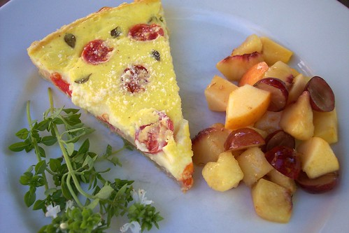 Potato Bacon Quiche Tart 2