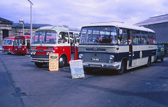 Highland Omnibuses T9 TSN882 Inverness (Guy Arab UF) Tags: trooper bus ford buses thames coach busstation inverness 1964 t9 duple highlandomnibuses 570e 18august1969 tsn882