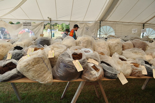 Fleece Sale at Common Ground Fair