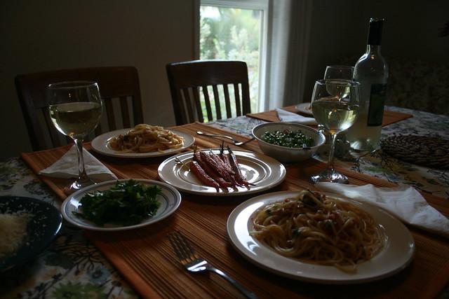 sunday flatmate dinner <3