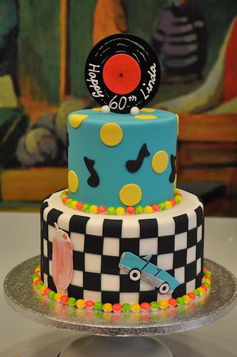 50s Themed Cake