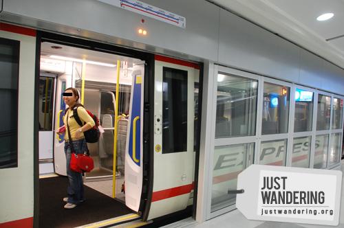 Bangkok Airport Link Express Train