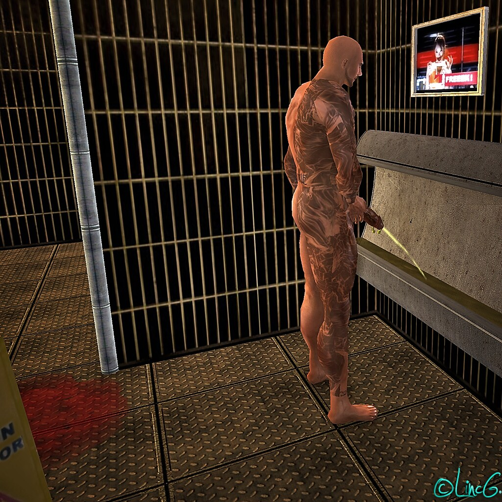 avatar second life and femal muscle nude