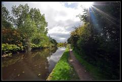 sunrays (davep90) Tags: red rock liverpool landscape canal hall nikon angle wide leeds sigma lancashire lane 1020 wigan haigh d90 davep90 sennicar