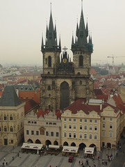 Tyn Cathedral (jeannie*) Tags: architecture cityscape prague czechrepublic oldtownsquare gothicchurch tyncathedral churchofourladybeforetn tncathedral