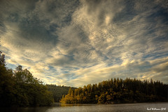 Ard Sky (Shuggie!!) Tags: sky water clouds landscape scotland williams karl trossachs hdr lochard karlwilliams