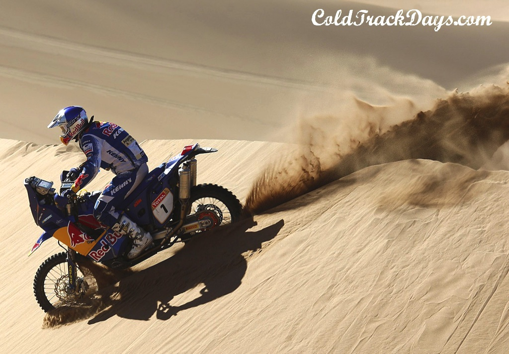 NEWS // DESPRES TESTING NEW KTM 450 RALLY