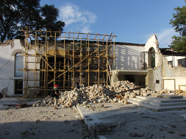 Ruins in Haiti