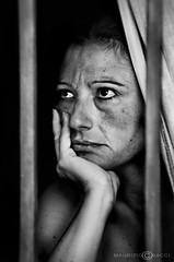 Non sempre la vita.......... (Maurizio Bacci) Tags: light people look portraits lucca bn persone attitude fotografia toscana ritratti ritratto viso biancoenero trabajando versilia esposizione volti emozioni volto camaiore visi portrayed sony350