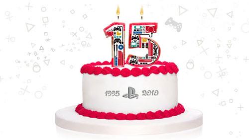 SCEE's 15th Birthday