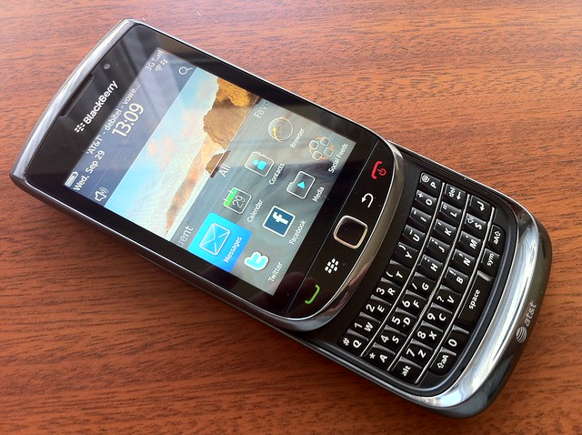 Look at this: one new BlackBerry Torch from AT&T