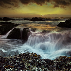 (jonmartin ()) Tags: ocean california sunset sea usa sun motion beach nature water ecology seashells america outdoors us movement scenery waves unitedstates pacific unitedstatesofamerica bigsur northamerica environment activity splash mussels garrapata environmentalism activities ecosystem cokin gnd cvkc