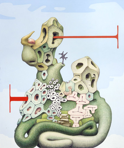 12 Alexander Ross, Untitled, watercolor, colored pencil, flashe, ink and graphite on paper, 2005
