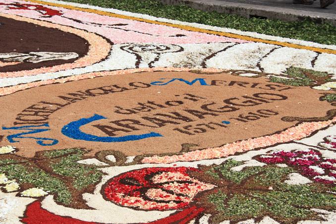 5038603274 69997f4d7f b Infiorata – the Italian flower festival in Genzano [35 Pics]