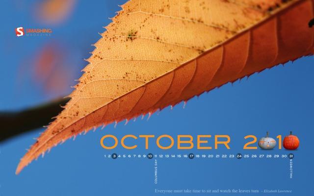 2010년 10월 배경화면