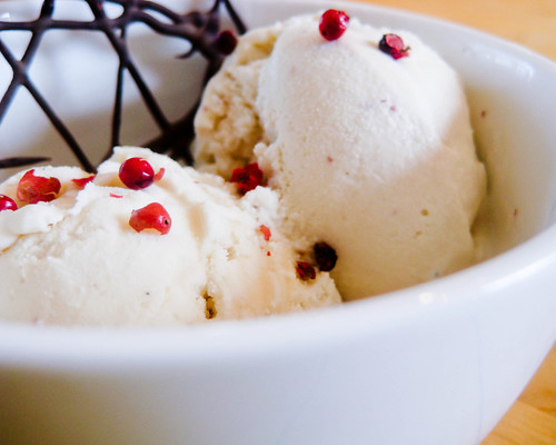 Pink Peppercorn Ice Cream