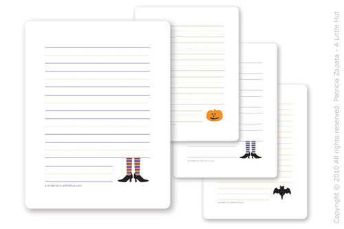 halloween cards for kids (freebie!)