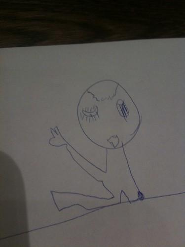 長女の描いた「お化け」
