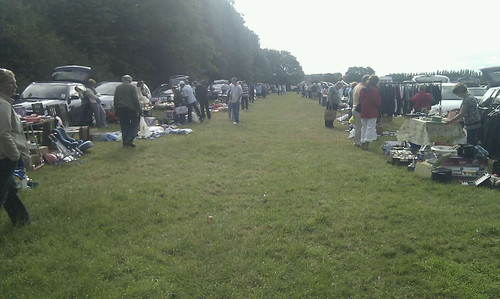 titchfield car boot sale / Rob Nunn guest blog