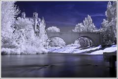 Puente (miguelangelortega) Tags: bridge water river ir puente agua nikon infrarot infrarrojo d90 infrarroja ltytr2 ltytr1 ltytr3 ltytr4 ltytr5 filtroinfrarrojo
