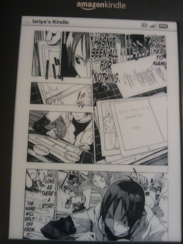 Manga on Kindle