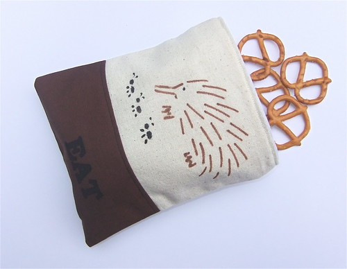 Reusable Cloth Snack Bag